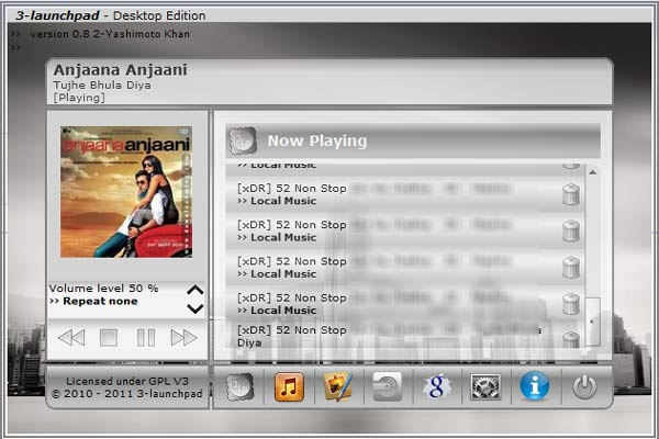 3-launchpad cloud Music Player