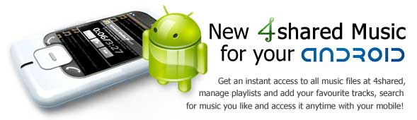 Android 4shared Music 4music