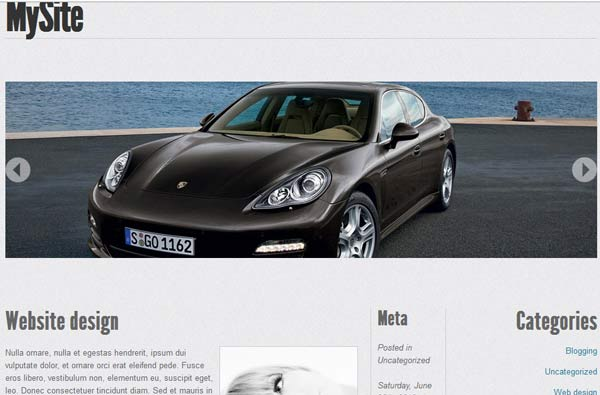 html5 wordpress theme