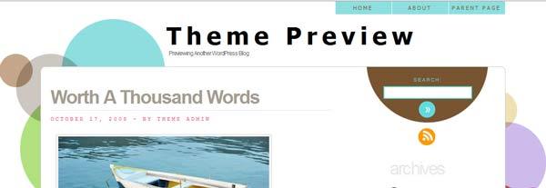 html5 wordpress theme