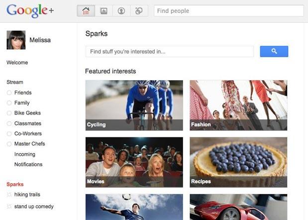 Google Plus Spark
