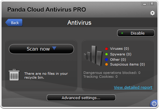 Panda Cloud Antivirus 2012 PRO Serial Key
