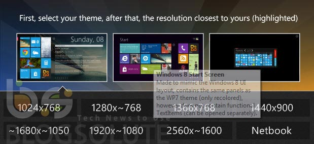 Windows 8 Skin Resolution
