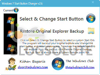 Windows 8 Start Orb Changer