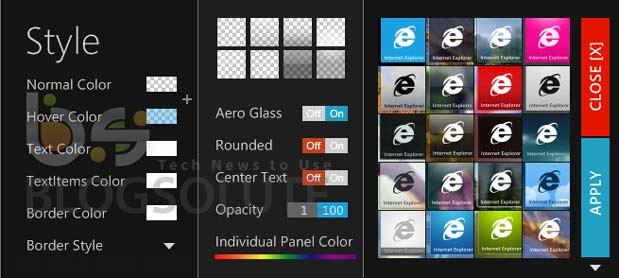 Windows 8 Home Screen Style