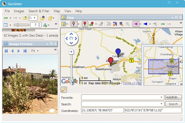 Windows 7 Geotagging Software