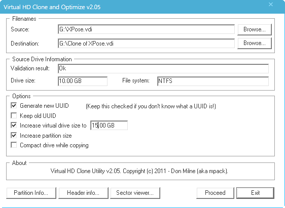 Increase VDI Hard Disk Size