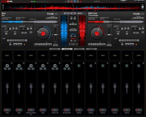 muziic dj webware