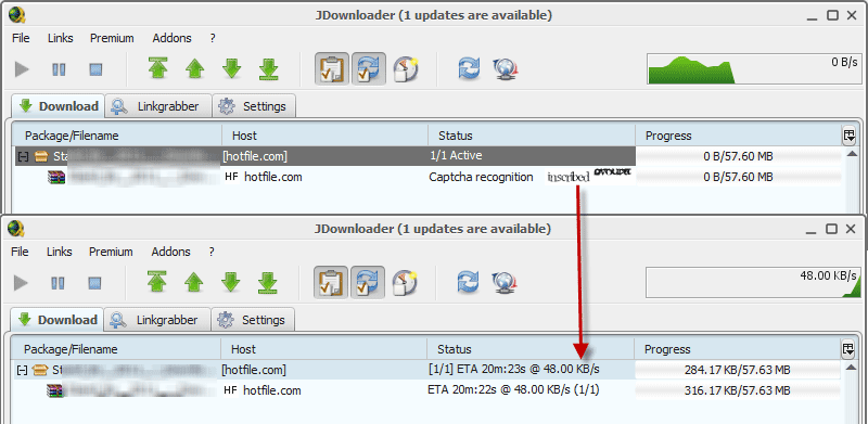 Captcha Trader Plugin jDownloader