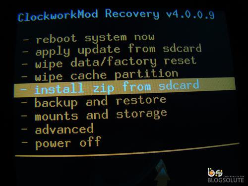ClockWordMod for Galaxy Ace