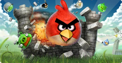 angry birds Best Facebook Game