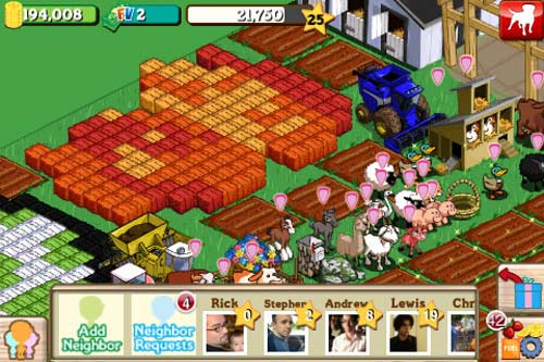 farmville best facebook game
