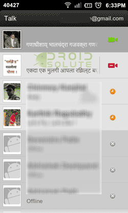 Regional Language Font Android Talk