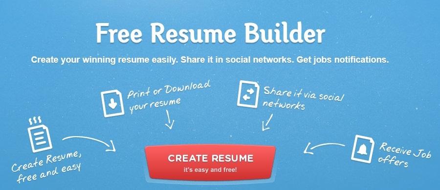online resume/ cv maker