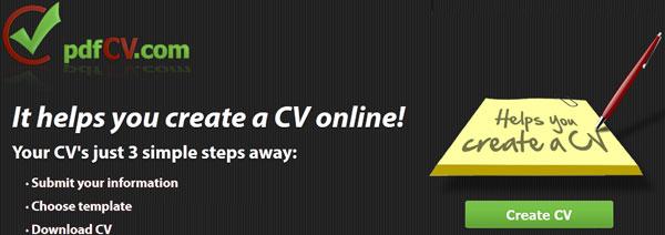 Create free resume / cv online