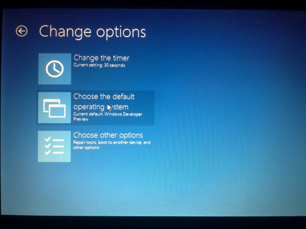 how to get to boot menue with windows 8 acer