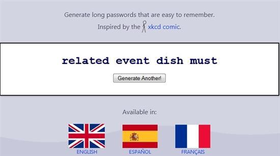 passphra password generator