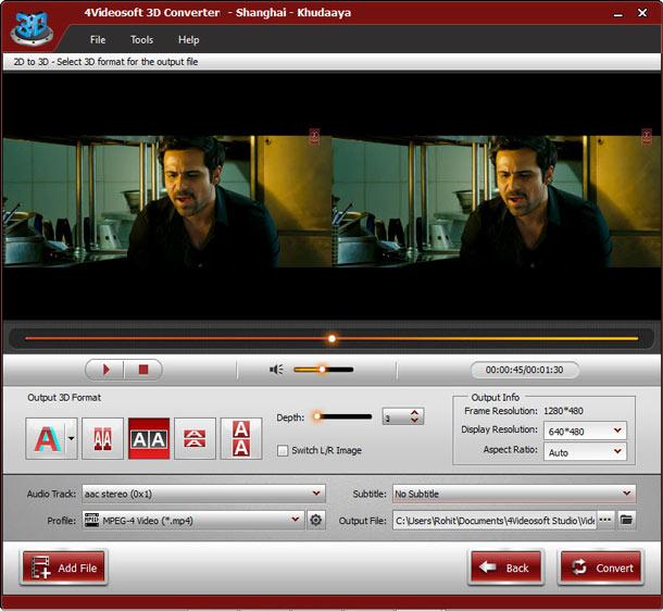 4video 3d converter