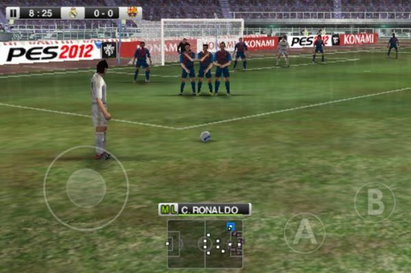 Pro Evolution Soccer PES 2012 APK Data File Download On Android