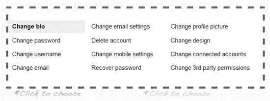 Change Multiple Social Network Settings