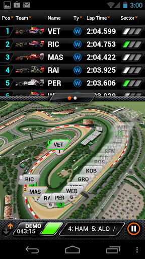 f1 2012 realtime app