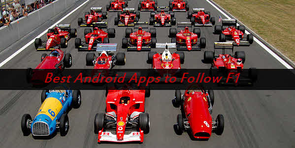 F1 Race Timings Android apps