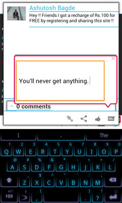 Fast Facebook Comment Box
