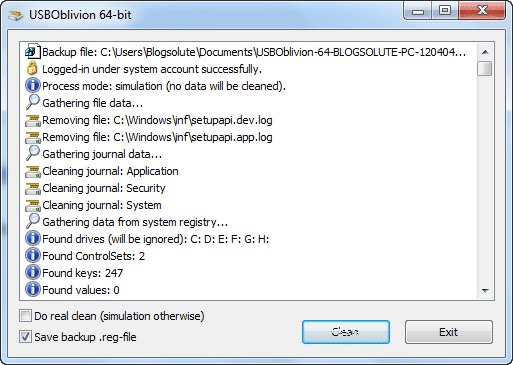 USB Connections Identifier