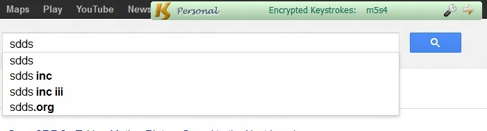 keyscrambler encrypting