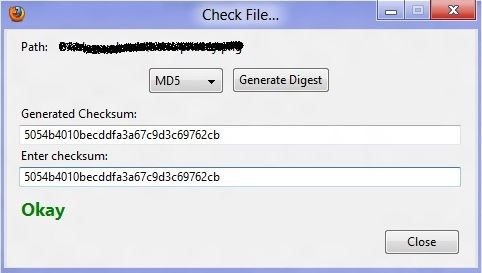 md5 reborned hasher checksum