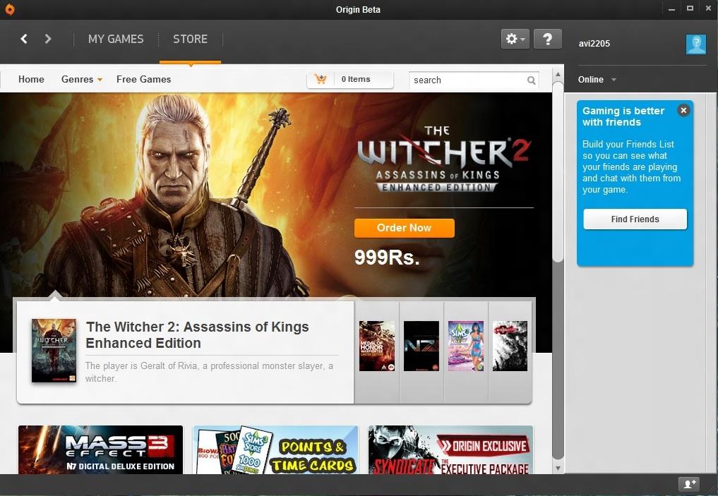 EA games downloader