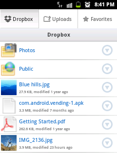 how i can change a dropbox file to a pdf
