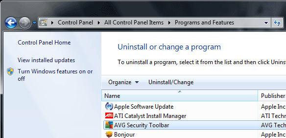 Uninstall GOM Player Toolbar and Remove From Browser
