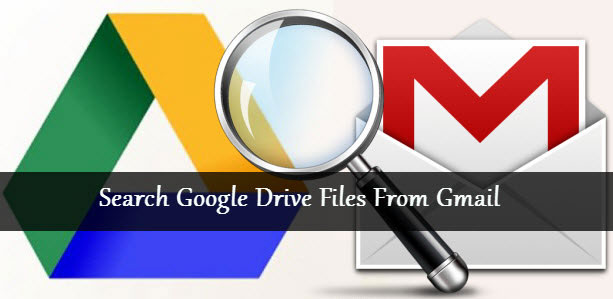 Google Drive Search from Gmail