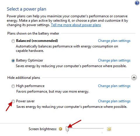 Power Saving Plan