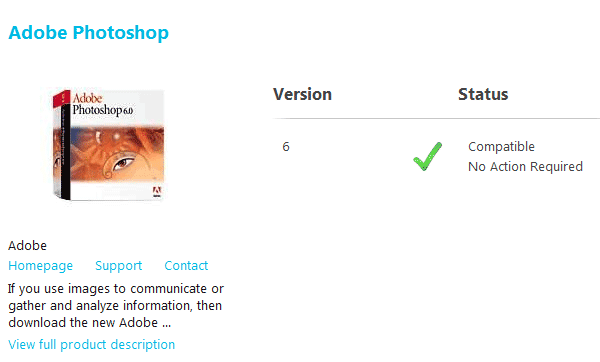 Adobe Software Compatibitlity Windows 8