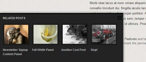 Related Post Thumbnail Slider YARPP Template