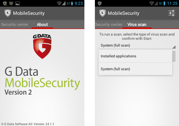 G-data-MobileSecurity free