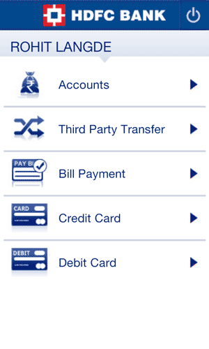 HDFC Bank Android App Profile