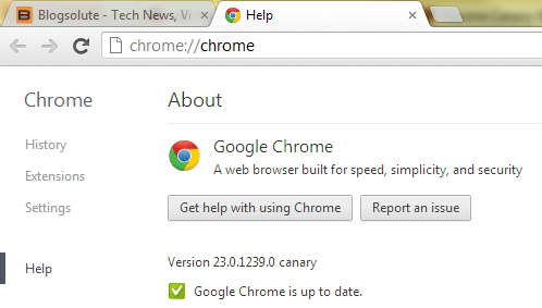 chrome canary browser