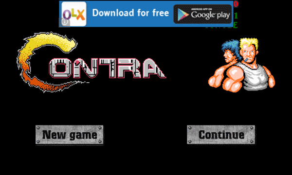 Play Contra on Android