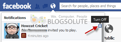 Facebook Notification Spam