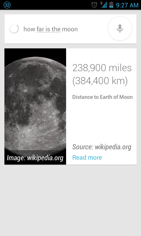 How Far is Moon