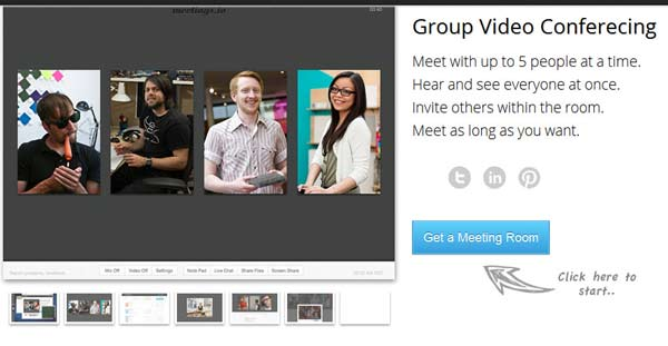 meeting.io - Video Conferencing without Software Download