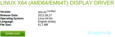 install nvidia driver on linux
