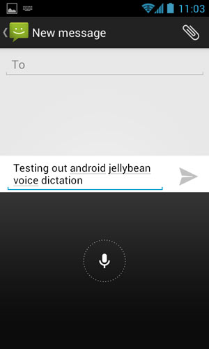 Offline Voice Dictation in Jellybean 4.1