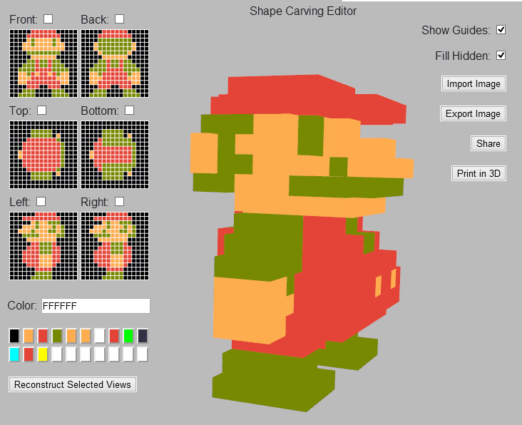 Create 3d character from 2d image sprites online free 3d for 3d building creator