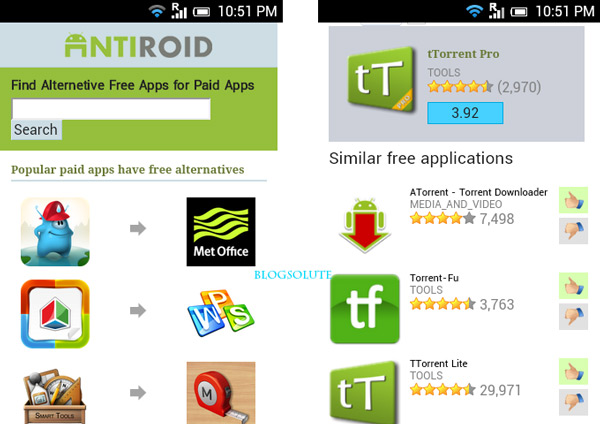 paid android apps free alternative