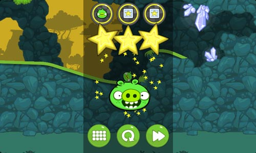 Bad Piggies Review iPad