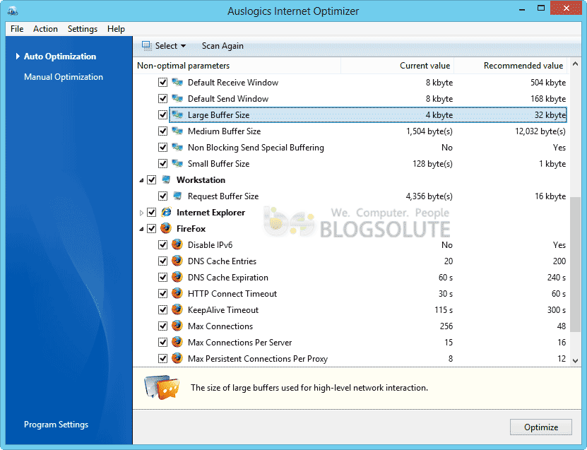 boostspeed internet optimizer